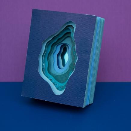 Blue Portal Tunnel Book