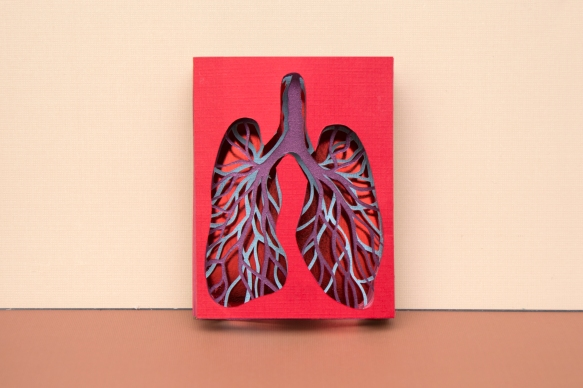 Lung Tunnel Book