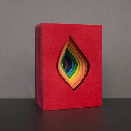 Rainbow Vagina Tunnel Book