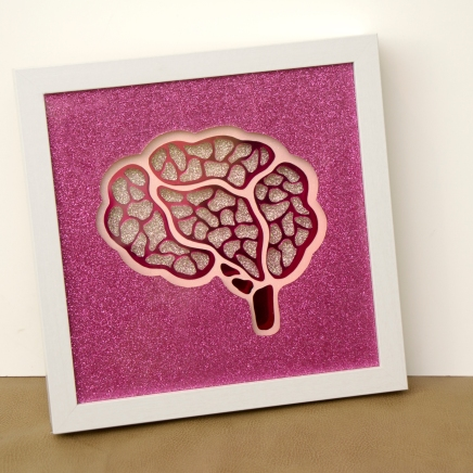 Pink Brain Angle